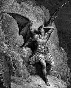 El mismísimo Satanás representa la Ira